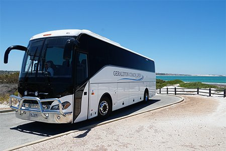 Geraldton Coach Lines Bus at Seperation Point